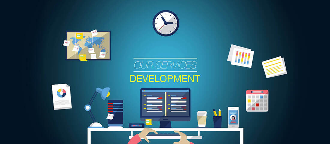 SunNet Solutions development services include custom software.